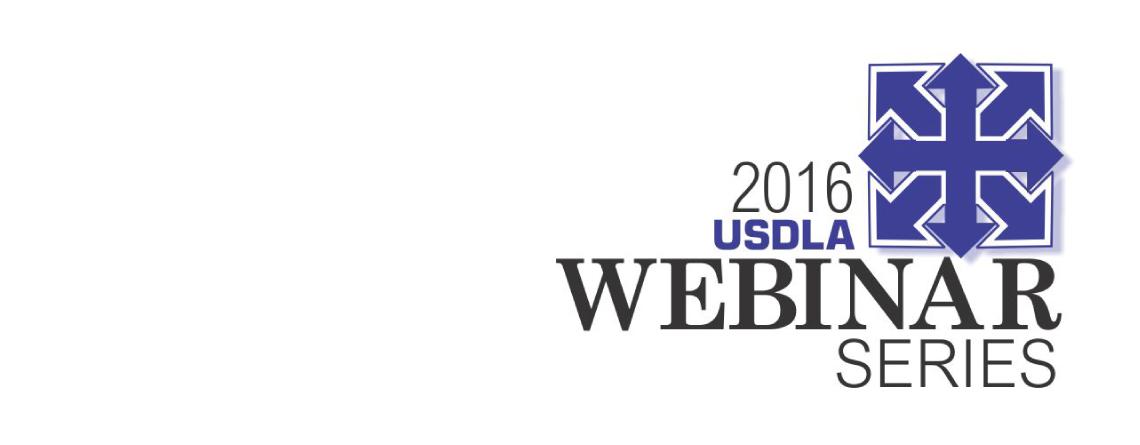 2016 Webinar Series