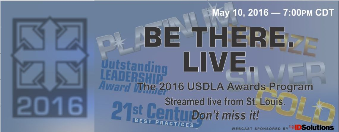 2016 USDLA International Awards Webcast